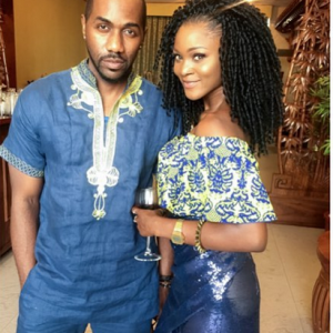 Photos : Eva Alordiah And Fiancee Step Out In Style