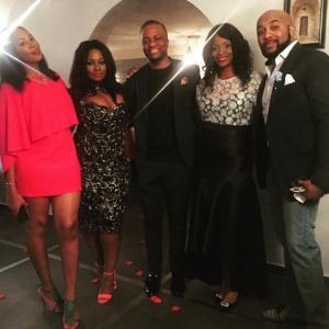 Photos : Toolz And Tunde Demuren's Engagement Dinner