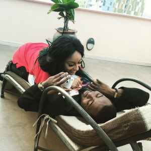 Ice Prince Shares Romantic Moment With Longtime Girlfriend