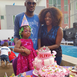 Photos : 2face And Annie Throw Daughter A Birthday Party