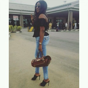 Ini Edo Steps Out Looking Gorgeous