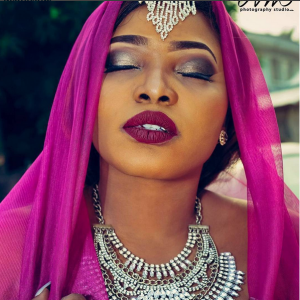 Photos : Halima Abubakar Stuns In Indian Inspired Photoshoot