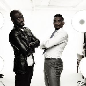 Photos : Peter Okoye and Samuel Eto'o Look Cool In New Photoshoot