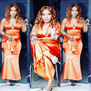 Photos : Check Out Halima Abubakar's Outfit To Movie Premiere