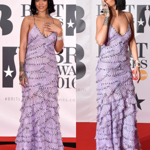 Photos : Rihanna Slays At The 2016 BRIT Awards