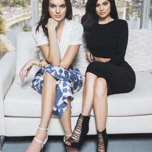 Kylie And Kendall Jenner Look Gorgeous As They Model Their Fashion Line
