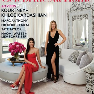 Check Out Khloé And Kourtney Kardashian's Luxury Homes In Architectural Digest