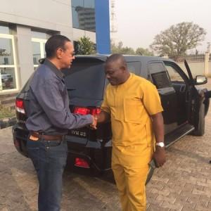 Sen. Ben Bruce Buys Made In Nigeria SUVs From Innoson