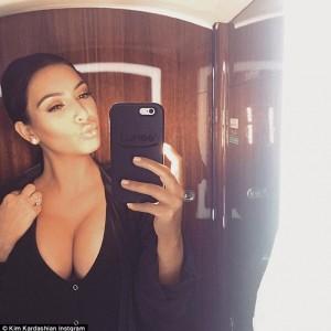 Kim Kardashian Shares Stunning Selfie