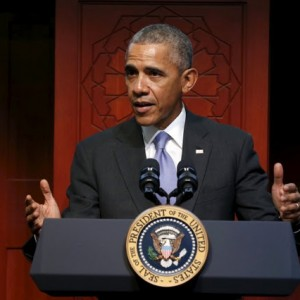 """""""You're Right Where You Belong. You're Part Of America Too – President Obama Tells Muslims During Visit To A US Mosque"""
