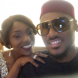 I Will Never Leave You- Annie Idibia Tells 2Face As They Mark 3rd Wedding Anniversary