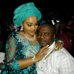 Mercy Aigbe And Hubby All Loved Up (Photos)