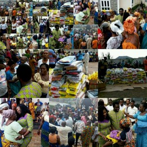 Mercy Johnson And Hubby Celebrate Easter By Giving Back To The Poor (Photos)