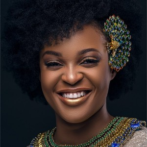 Photos : Adaeze Yobo Stunning On The Cover Of MyHairMyBeauty Magazine