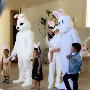 PHOTOS: Kanye And Tyga Dress Up As Easter Bunnies
