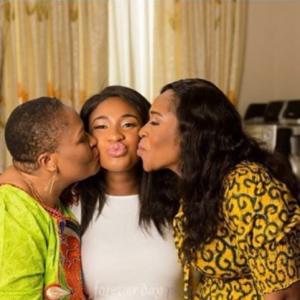 Tonto Dikeh Shares Adorable Photos With Her Inlaws