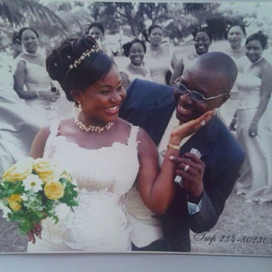 Real Men Marry Event Managers – Ali Baba says,shares Wedding Photo