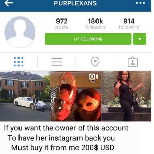 Actress Ruth Kadiri's Instagram Account Compromised,Hacker Demands $200