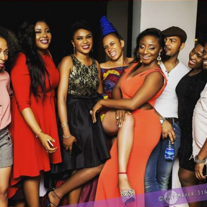 Photos : Nollywood Stars Turn Up For 2016 AMVCA After-Party