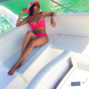 Chika Ike Shares Stunning Bikini Pic