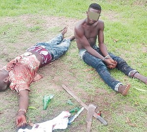 Father Reports 'Armed Robber' Son To Police, Gets Him Arrested In Delta (Photo)