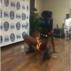 Woman Accidentally Sets Her Private Part on Fire During a Dance Competition (Photos)