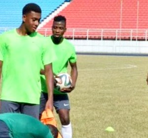 Super Eagles' Players, Mikel Obi, Alex Iwobi and Odion Ighalo Arrive Training Camp in Abuja (Photos)