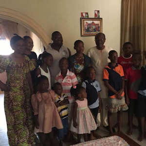 Photos: CBN Gov. Emefiele Donates Gifts To Motherless Babies Homes