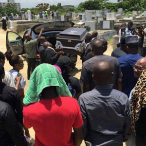 Photos From The Burial Ceremony Of Singer, Nomoreloss