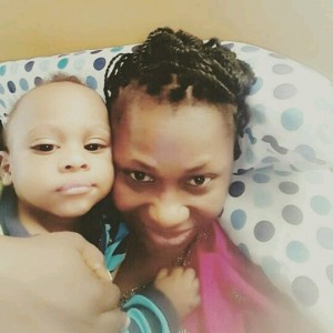 Uche Jombo And Son In Adorable New Photo