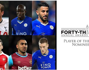 Three Leicester City Players Nominated For PFA Player Of The Year Awards