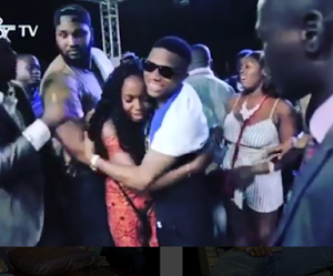 Lady Bursts Into Tears For Wizkid During Concert In Sierra Leone (Photos)