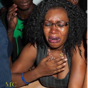 Flavour's Female Fans Shed Tears During His Performance In Mali (Photos)