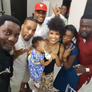Ay, Alex Ekubo, Others At Actress Venita Akpofure's Daughter's First Birthday | Photos