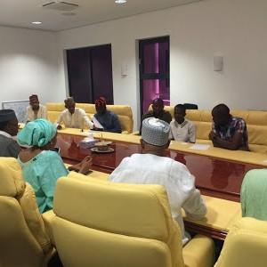 Governor El Rufai Receives NANS And NAKASS Delegates In Kaduna Govt House (Photos)