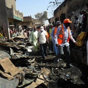 Photos From The Fire Disaster At The Popular Kurmi Market In Kano State