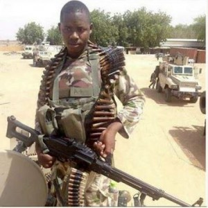See the Face of Young Soldier Killed by Boko Haram Explosive (Photo)