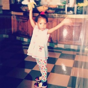 Billionaire Daughter Temi Otedola Shares Childhood Throwback Photo