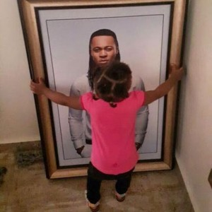 Flavour Shares A Photo Of His Daughter With Sandra Okagbue