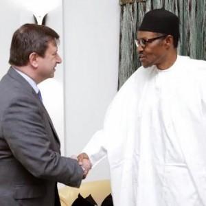 Photo: Pres. Buhari receives British High Commissioner to Nigeria