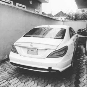 Tekno Acquires A Brand New White Mercedes (Photo)