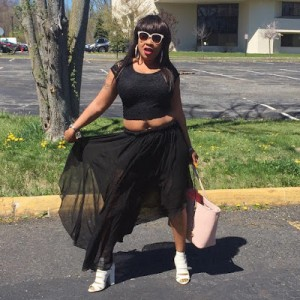 Afrocandy Shares Photos As She Steps Out In The US