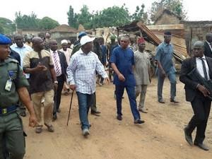 Gov Ortom Finally Visits Agatu Community After Weeks Of Attack By Fulani Herdsmen. (Photos)