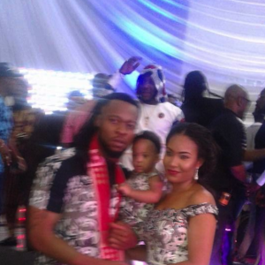 Flavour And His Second Babymama, Anna Ebiere COUPLE UP At His Father's Birthday |Photos
