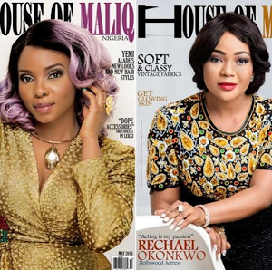 Photos; Yemi Alade & Rachael Okonkwo Covers House of Maliq Magazine