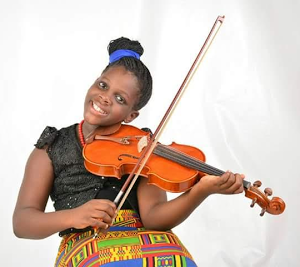 Meet 9 Year Old Violin Player From Nigeria (Photos)