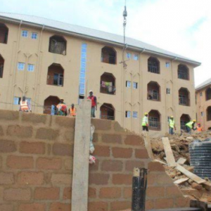 Photos: 3-storey Building Collapses At Oko, Anambra State