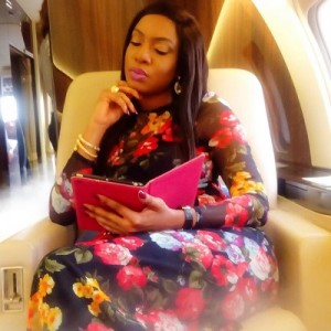 Actress Chika Ike At A Beach In Senegal (Photos)