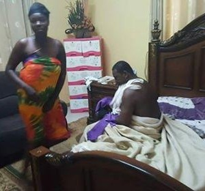 Ghanaian Pastor Caught Having Sex With A Married Woman On Her Matrimonial Bed (Pics)