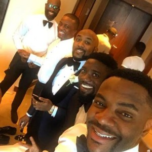 Photos Of Tunde Demuren And His Groomsmen At His Wedding